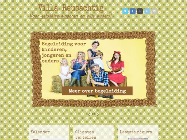 Villa Reusachtig - Voor gelukkige kinderen en blije ouders